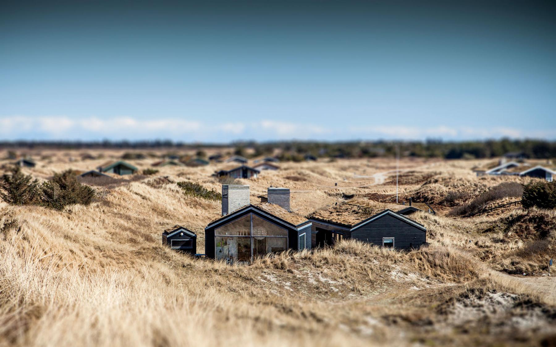 Arquitectura del paisaje por Kassow Arkitekter. Proyecto Sommerhus en Dinamarca