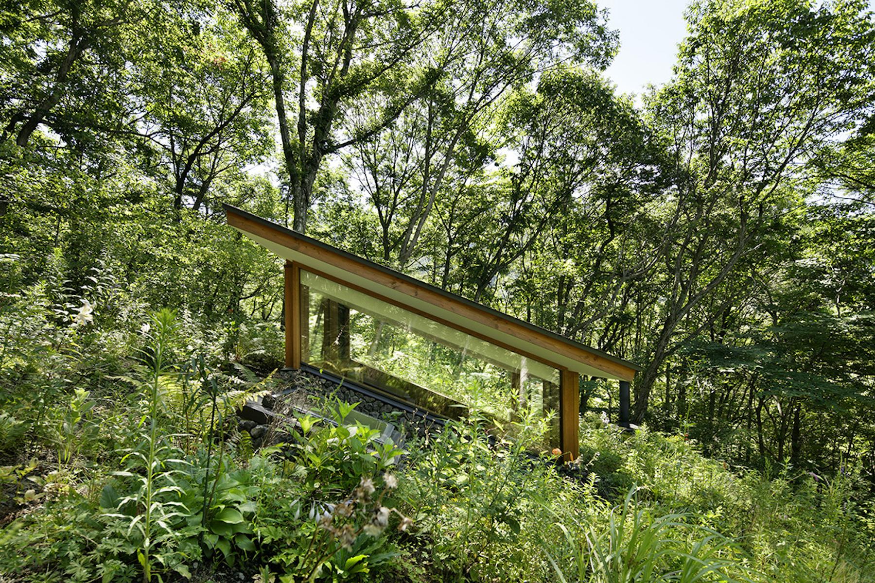 Arquitectura del paisaje por Hirosi Nakamura & NAP en Japón