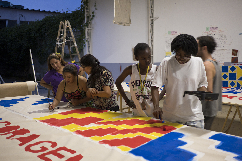 Fronteira Livre, Urban Placemaking project, São Paulo, Brazil