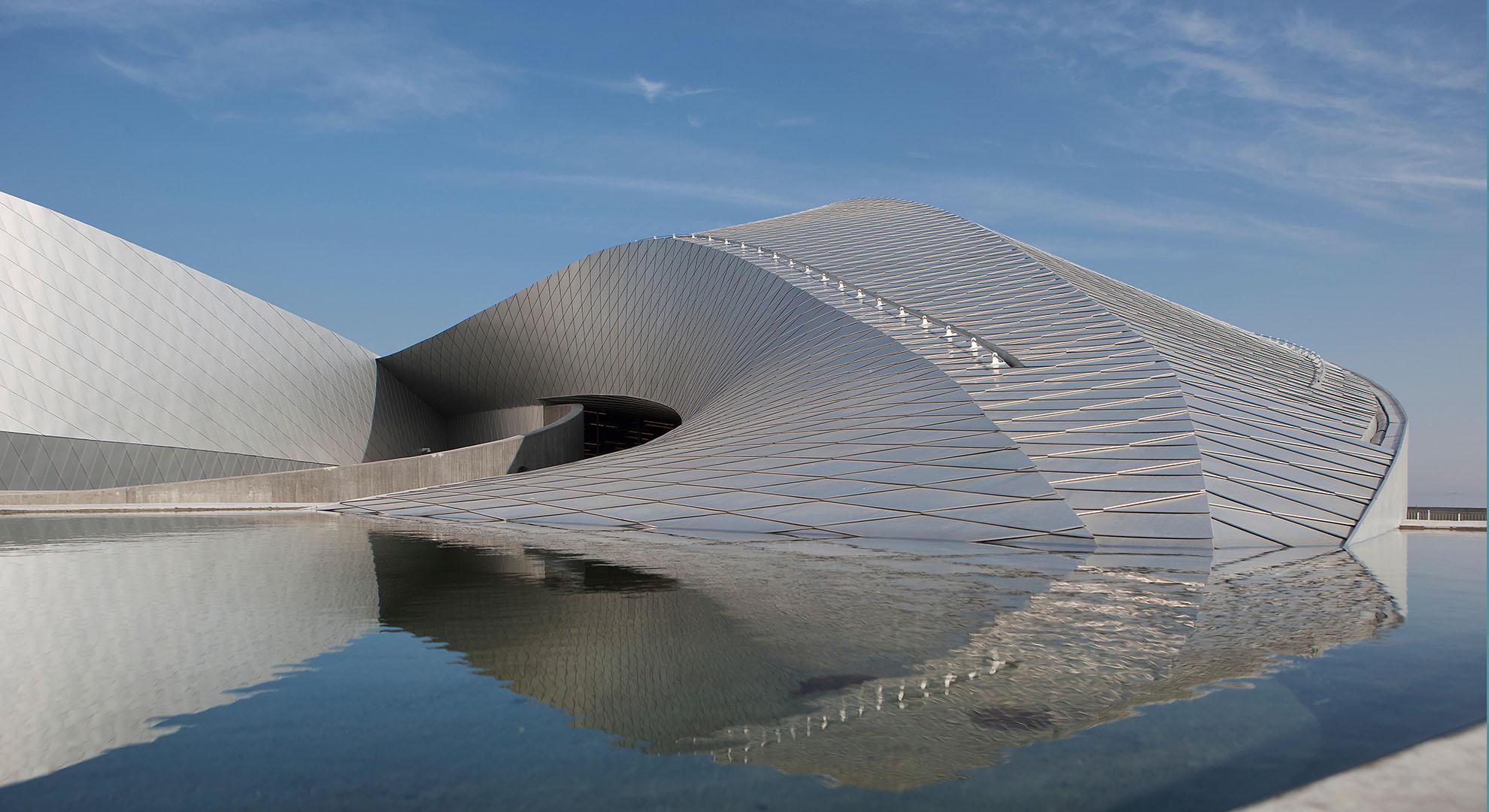 Aquarium architecture in Denmark