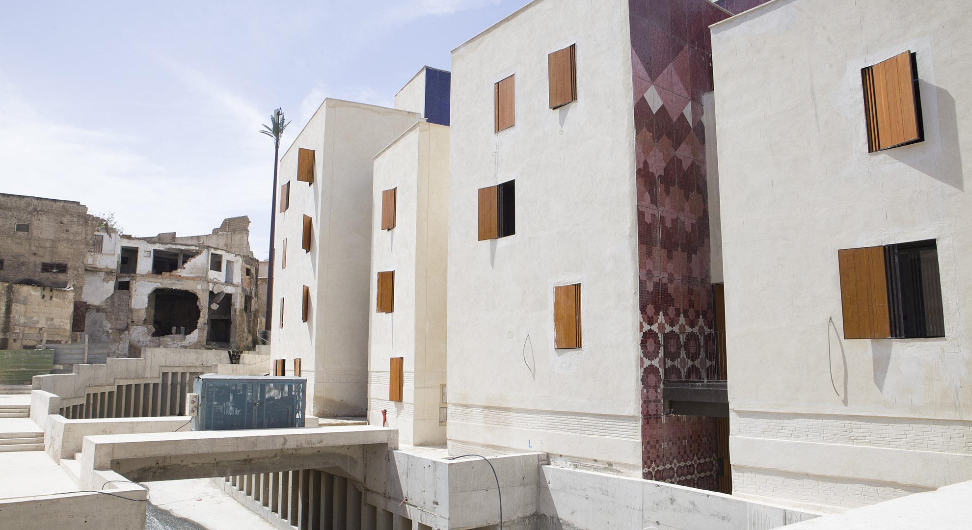 Lalla Yedounna square in Fez Medina