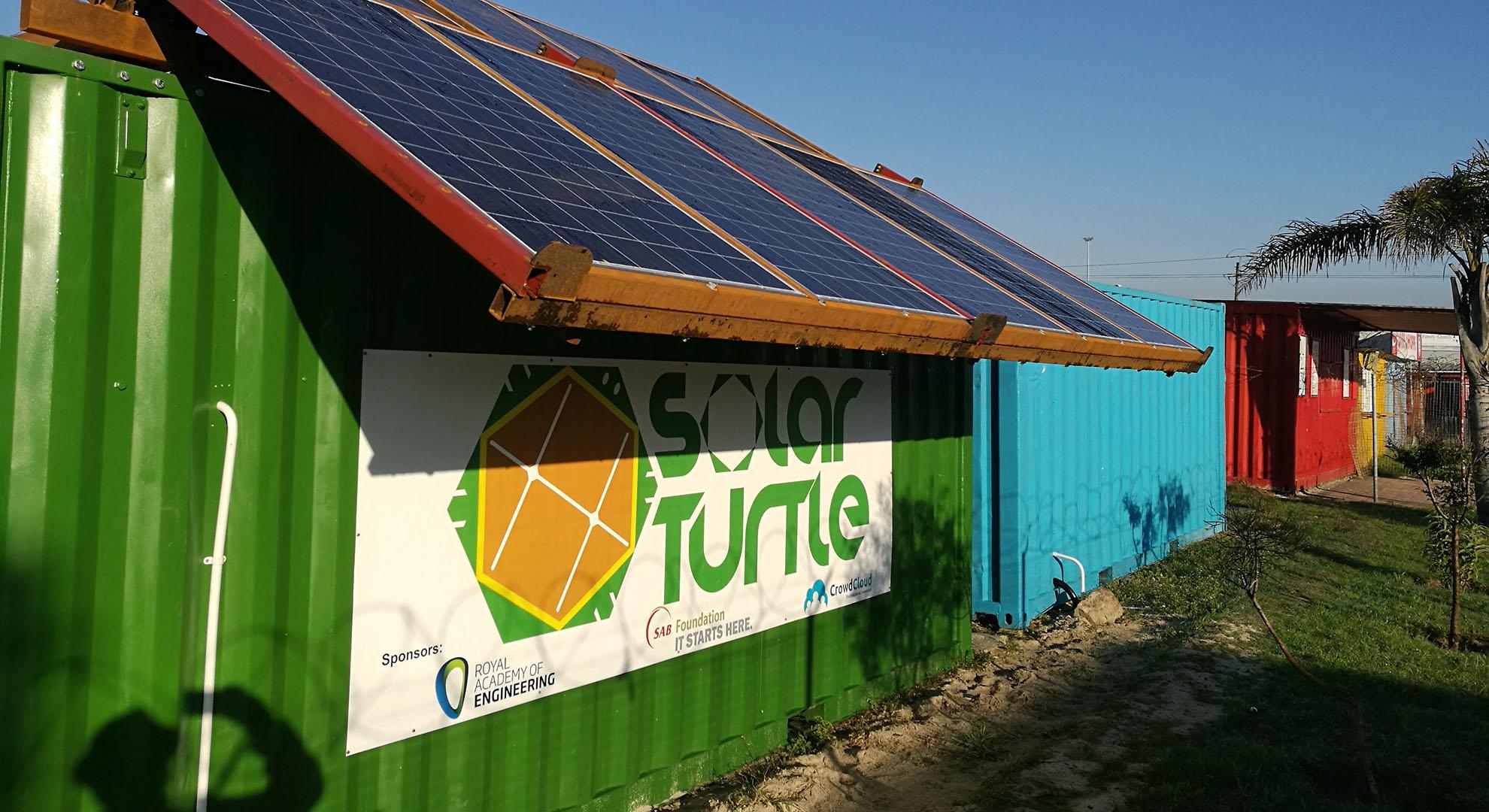 The Solar Turtle by James van der Walt