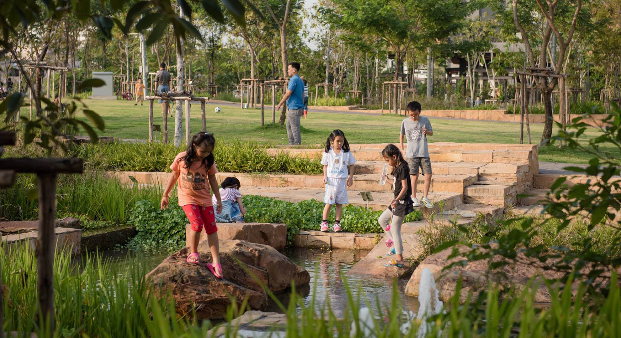 Green Spaces to Combat Climate Change