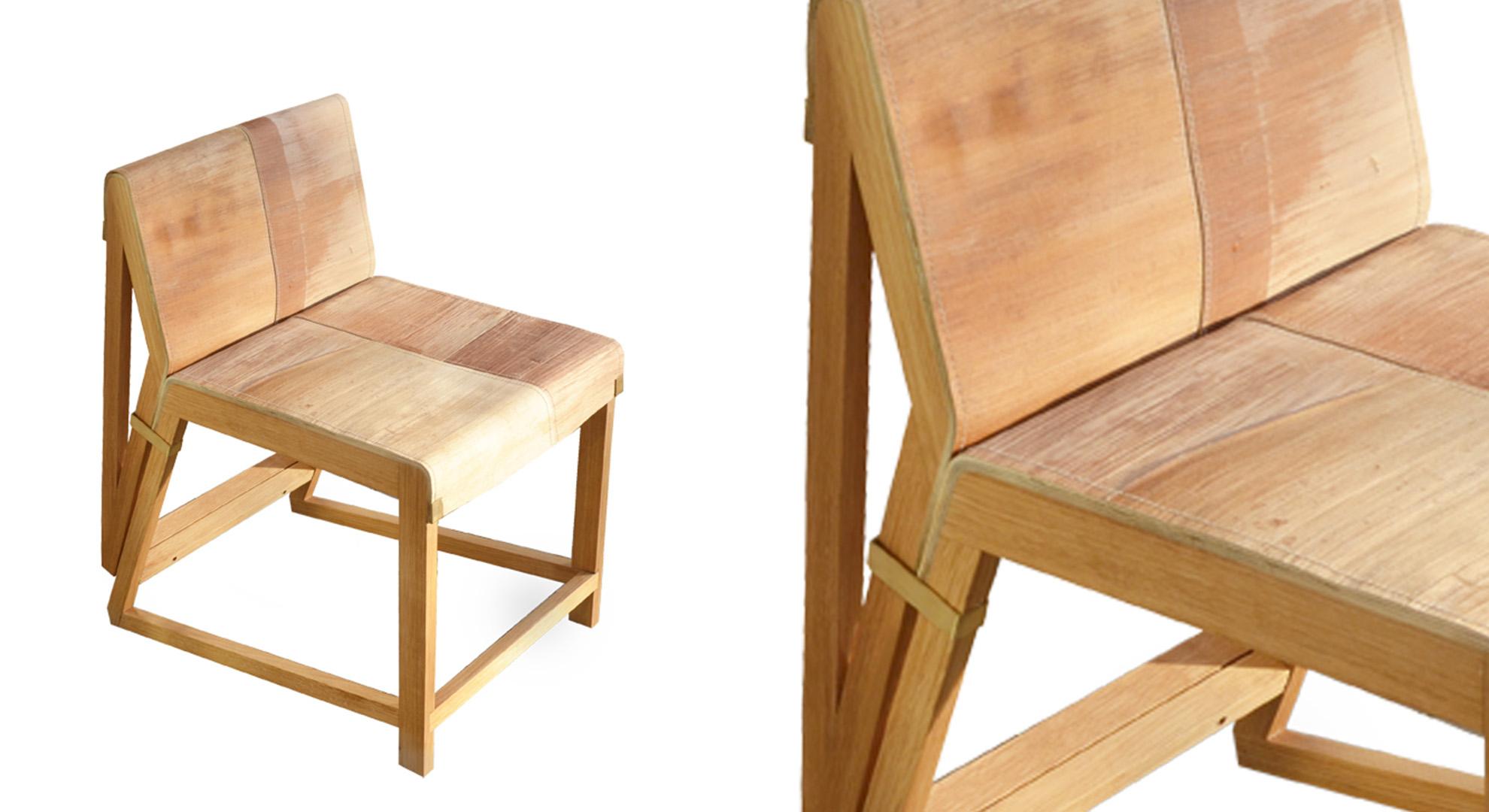 Eco designed chair by Studio Tjeerd Veenhoven