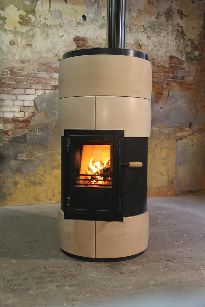 Eco designed stove by Vuurs