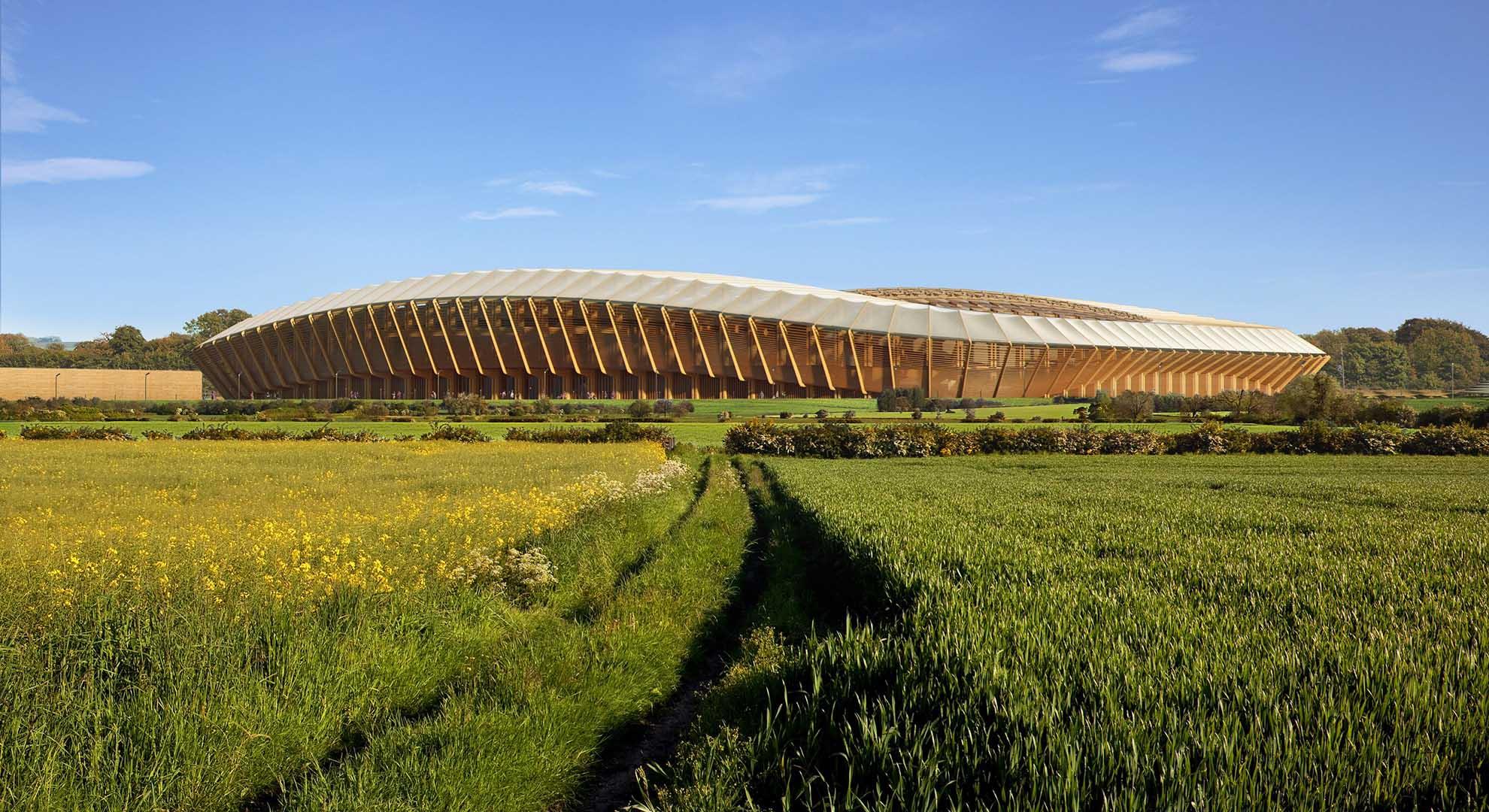 El club de fútbol Forest Green Rovers, premiado por su arquitectura sostenible