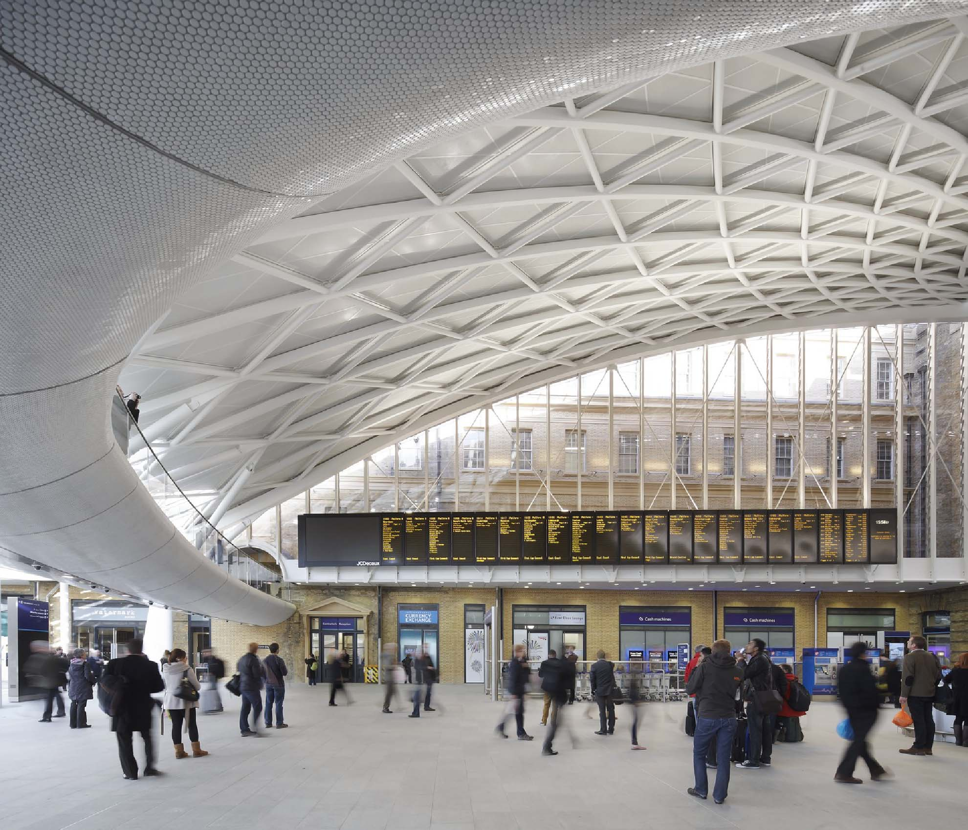 Transportation architecture: The refurbishment of King's Cross Station, London by John McAslan + Partners