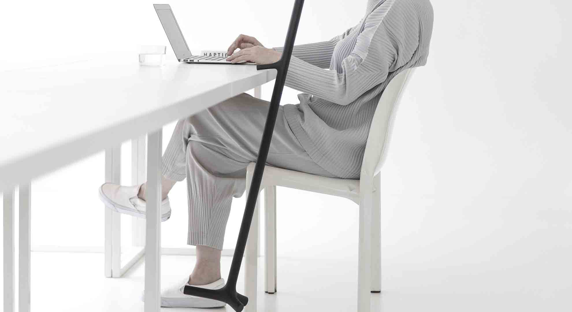 The 3D-Printed walking stick is a new and elegant solution for physically challenged people