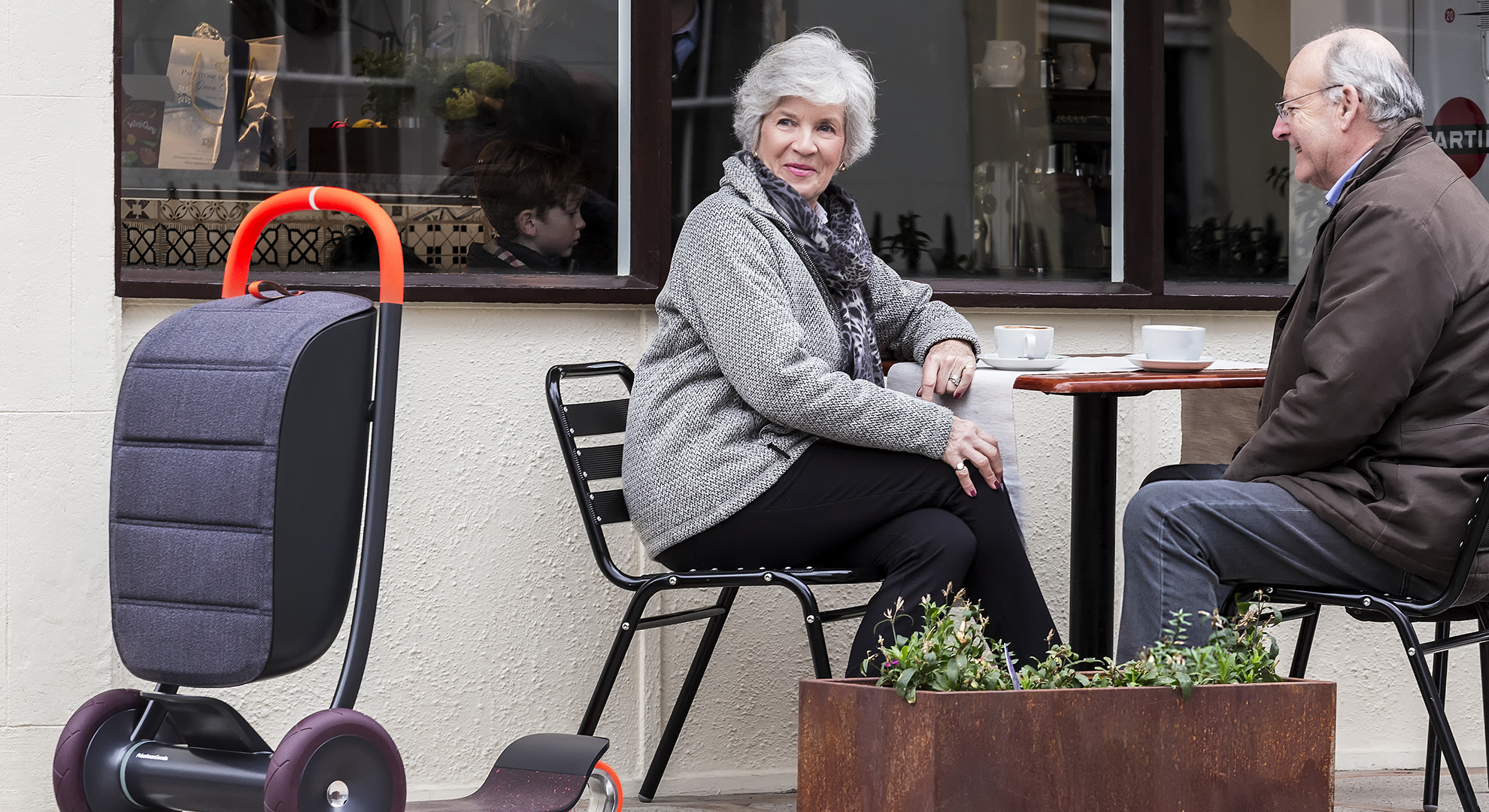 The Scooter for Life by Priestman Goode is a new solution for older and physically challenged people
