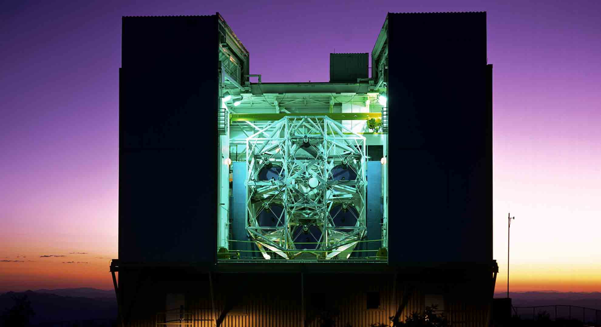 The MMT astronomical observatory is run by the University of Arizona and the Smithsonian Institution