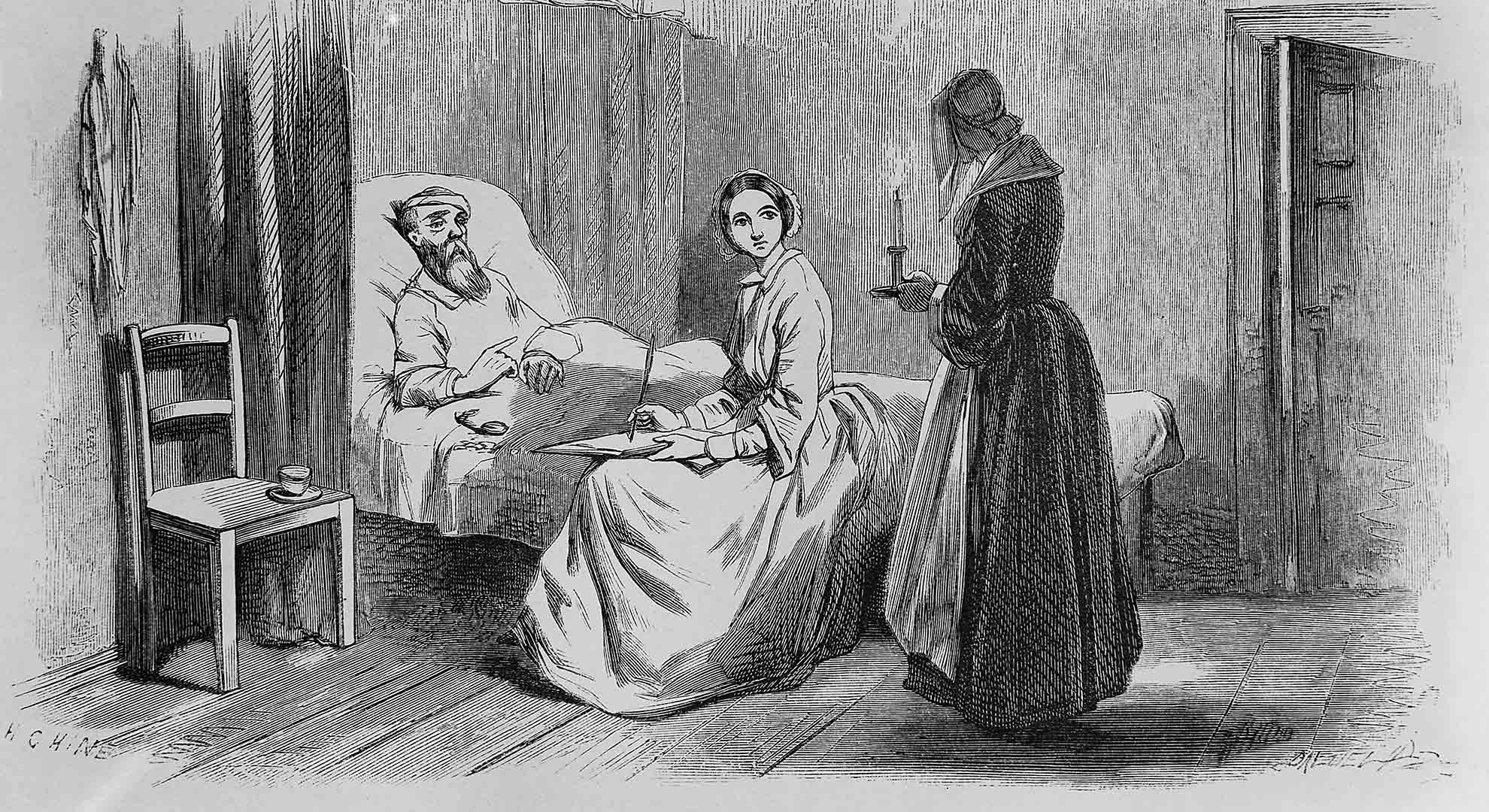 Florence Nightingale was a visionary in understanding the hospital architecture impact on patients' health.