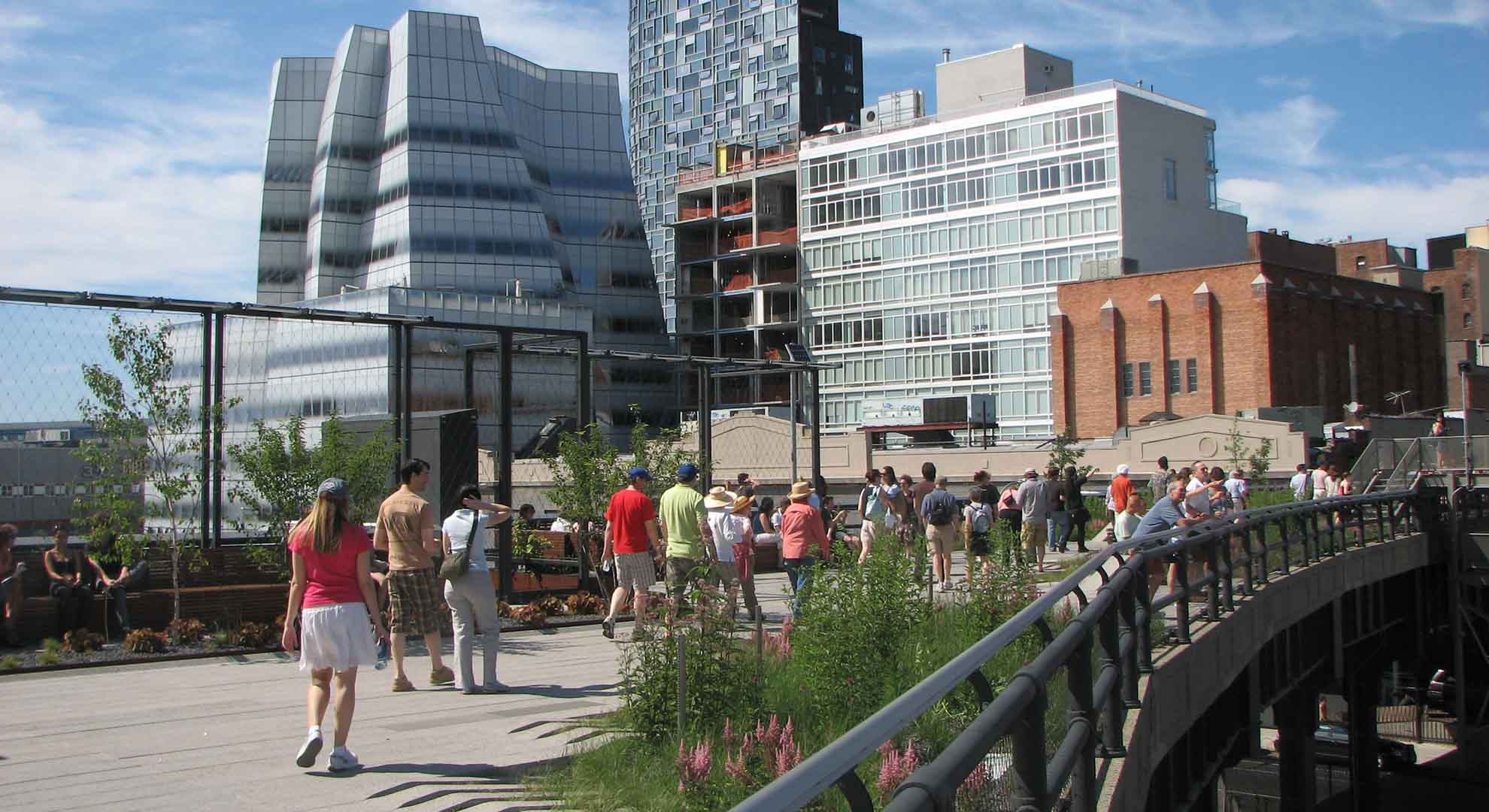 Green spaces have shown a positive impact on health