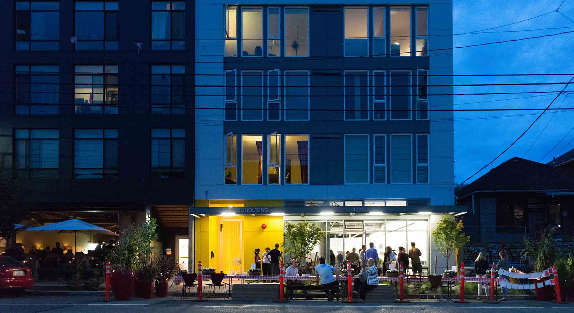The Capitol Hill Cohousing complex by Schemata Workshop