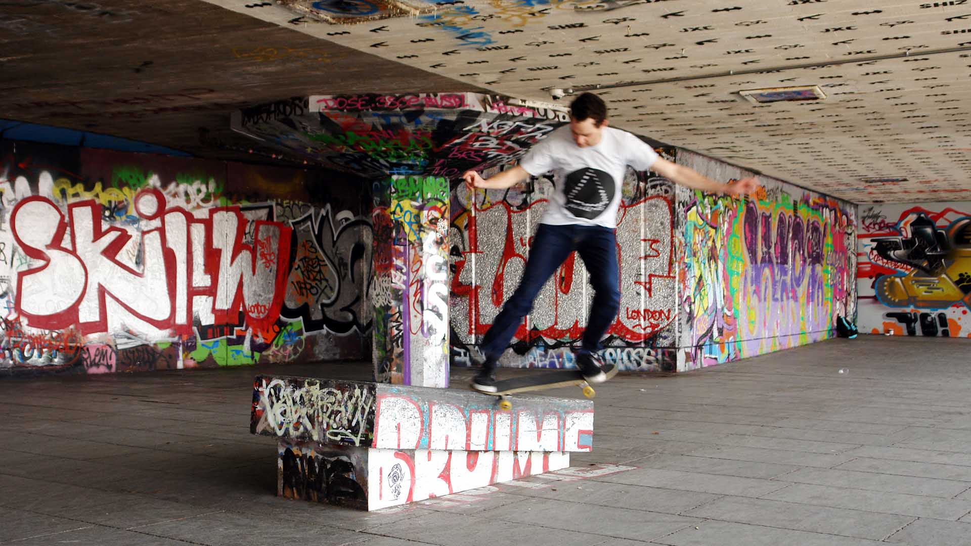 Undercroft skatepark is widely considered the spiritual home of British skating.