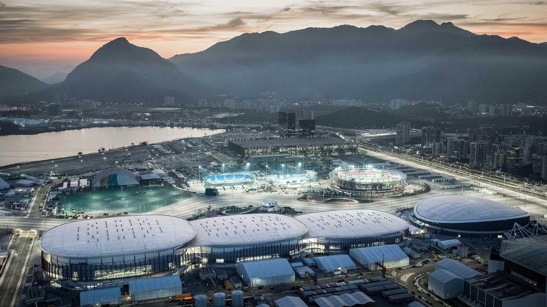 Cariocas Arenas, Rio 2016 Olympic Games, designed by WilkinsonEyre