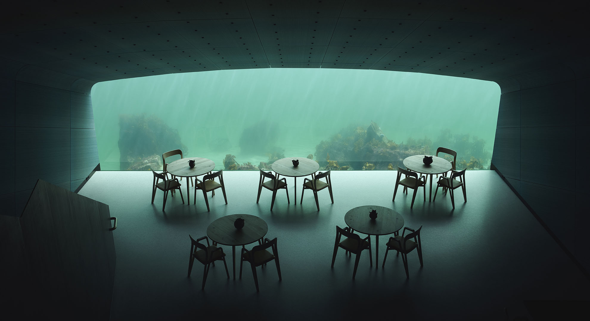 Under, Underwater restaurant by Snøhetta