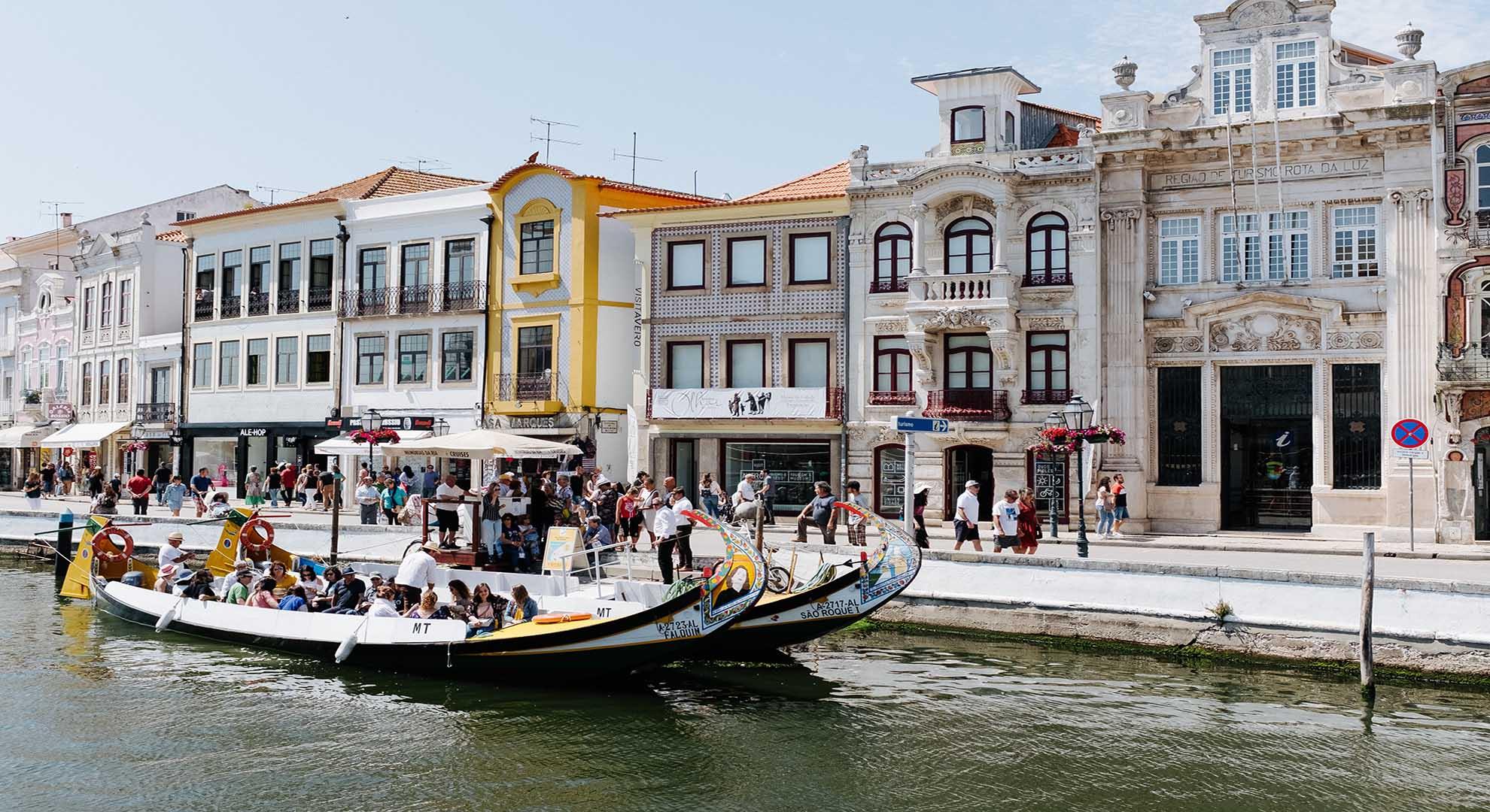Turismo sostenible en Aveiro, Portugal