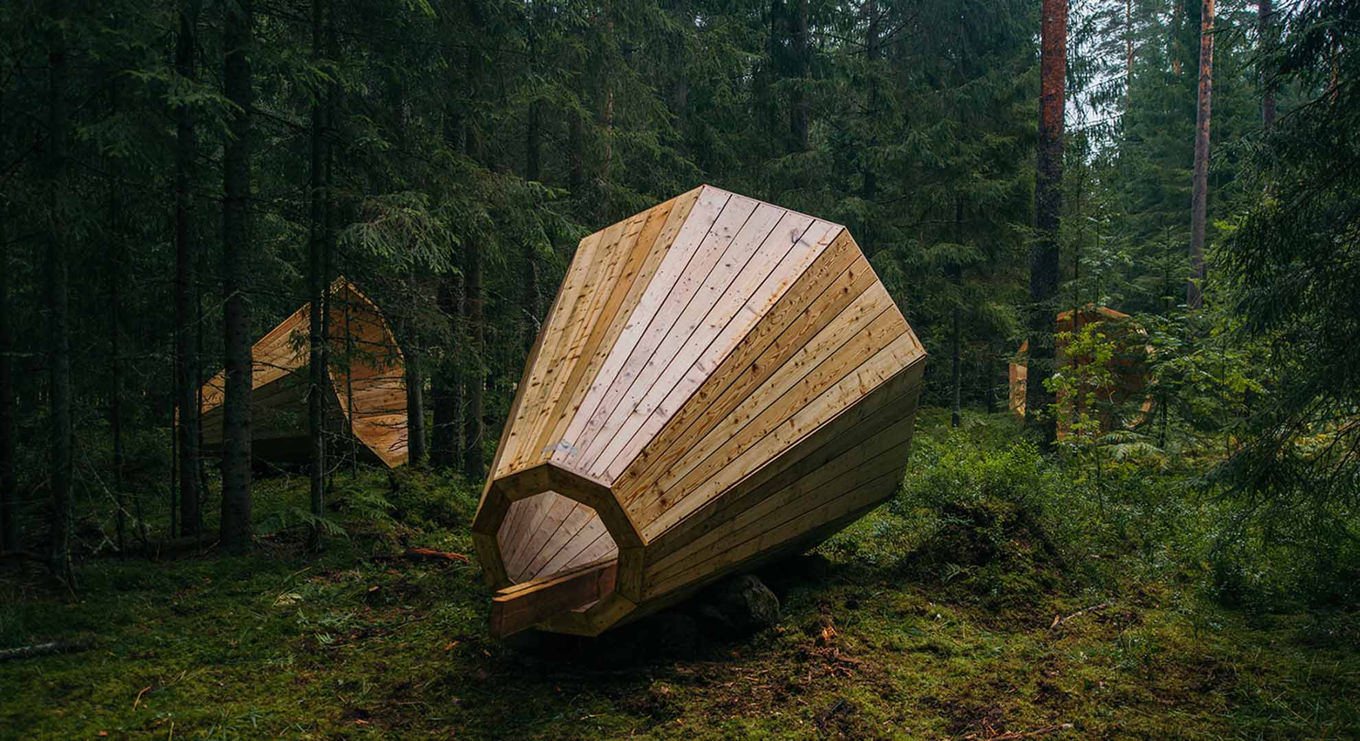 How to hear the opposite of urban noise: forest megaphones in Estonia
