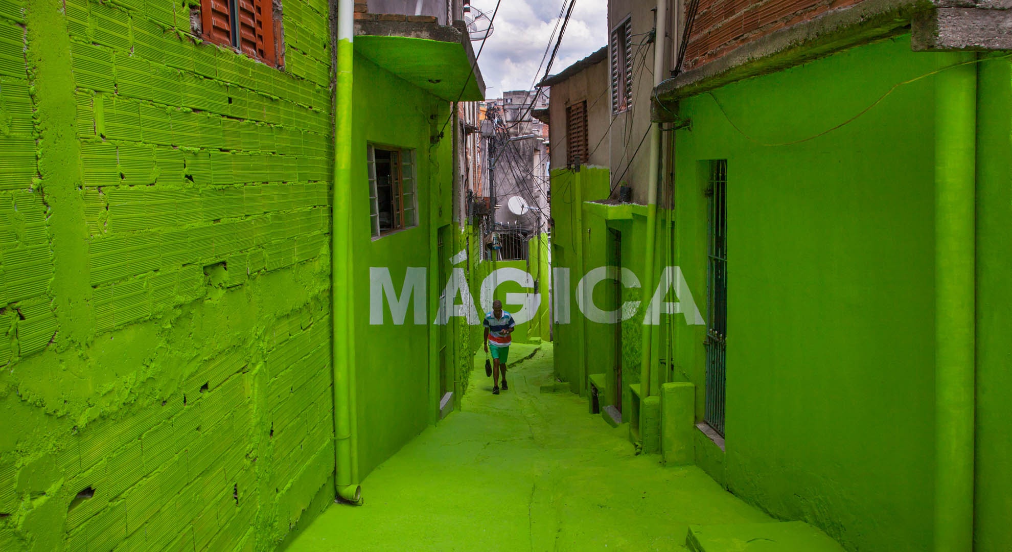 A transformation of public space in Brazil.