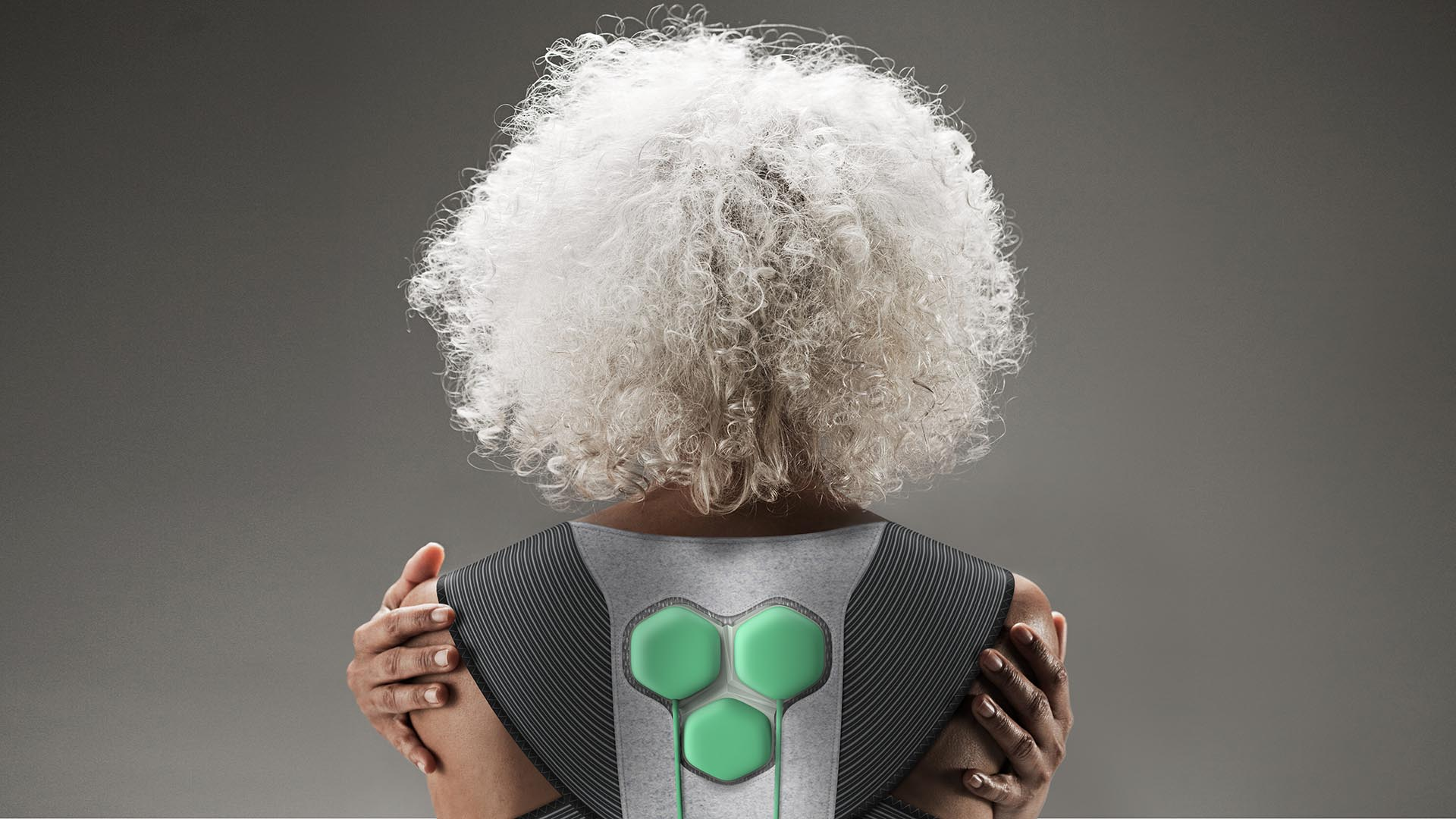 Auro Powered Clothing, by Yves Behar/Fuseproject is a new design aimed at older adults