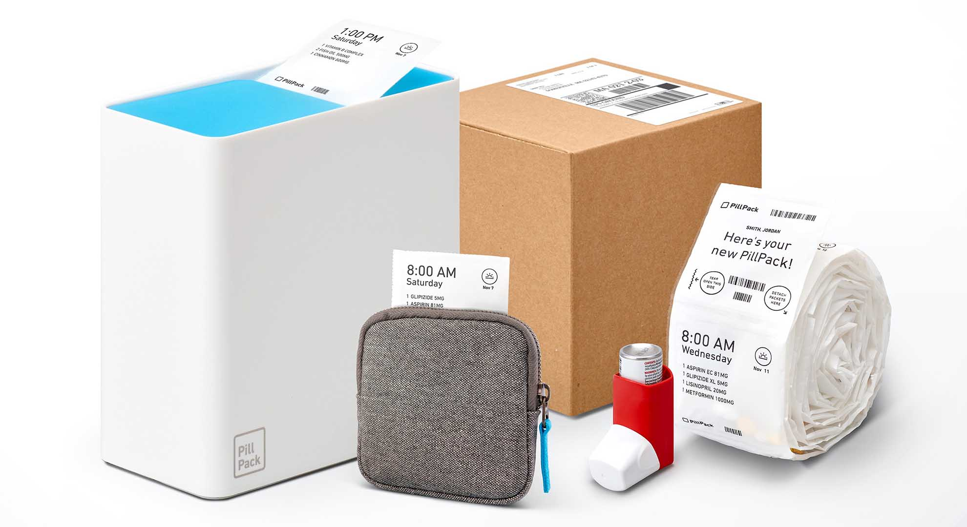 Pill Pack is a dosed prescription system that contributes to the health of the ageing population