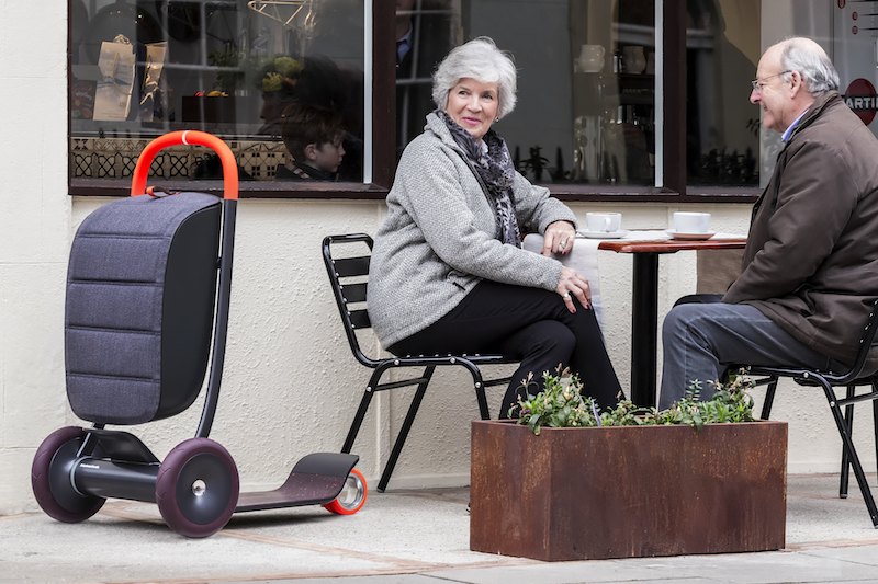 "An age neutral scooter called ""Scooter for Life,"" designed by Paul Priestman."