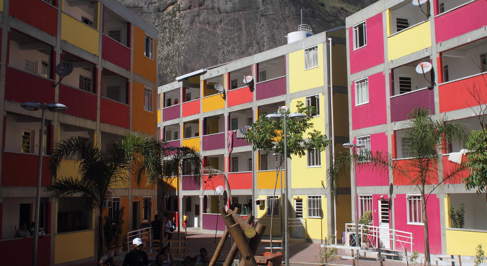 The use of color in urban planning