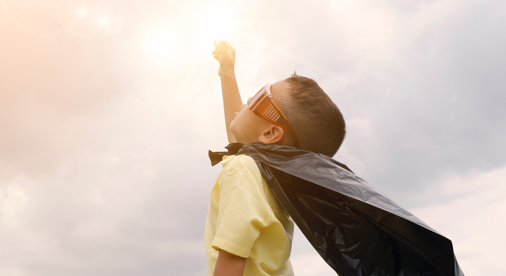 At school, little heroes believe they can effect change in the world