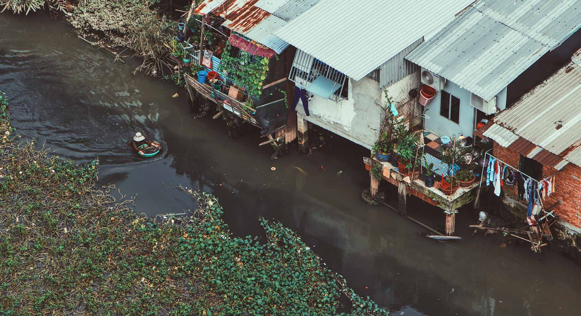 Ho Chi Minh, Vietnam after floods.