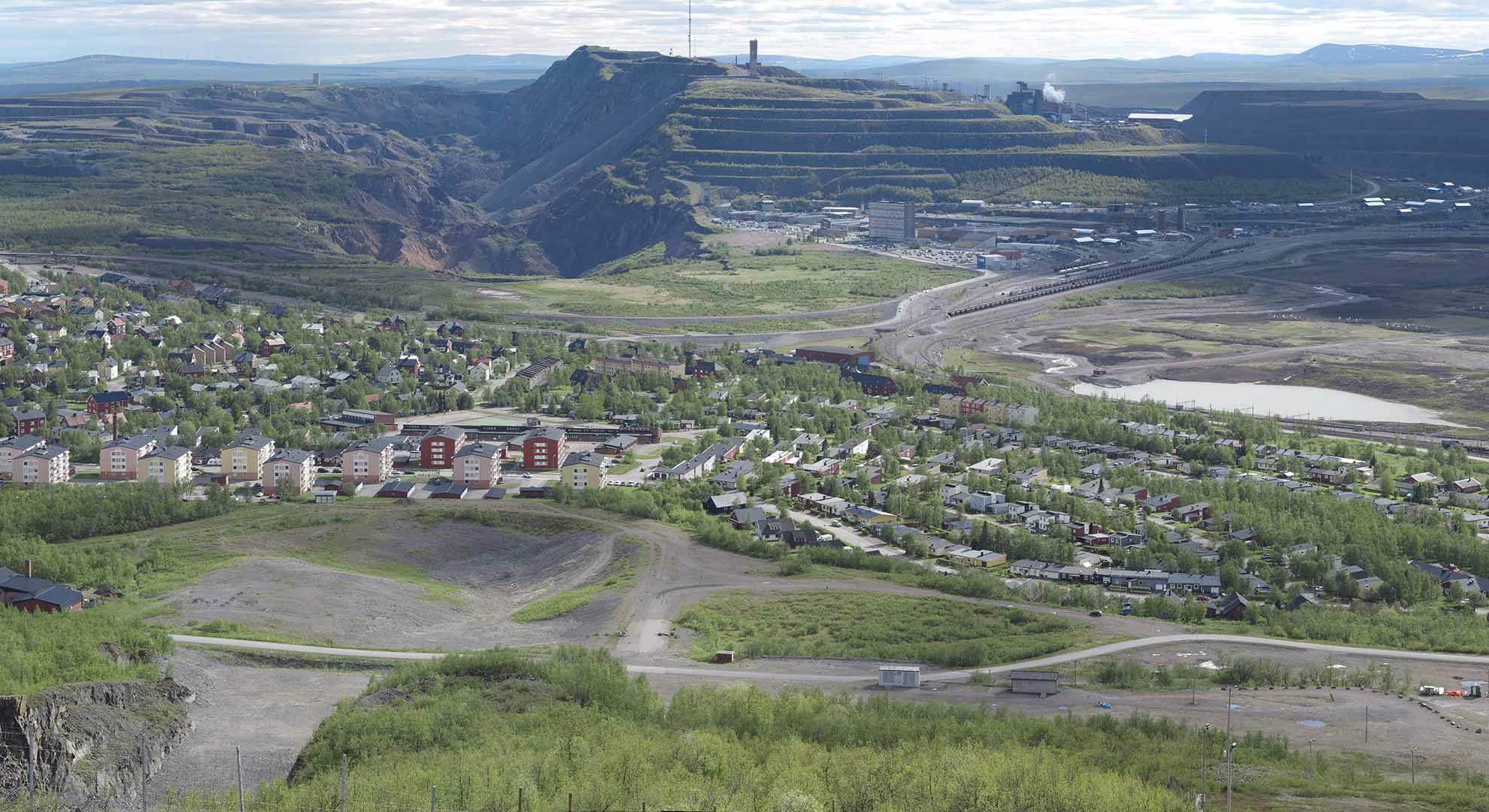 La ciudad de Kiruna, en Suecia, vive un traslado de ubicación a causa de las afectaciones en el terreno por la actividad de una mina.