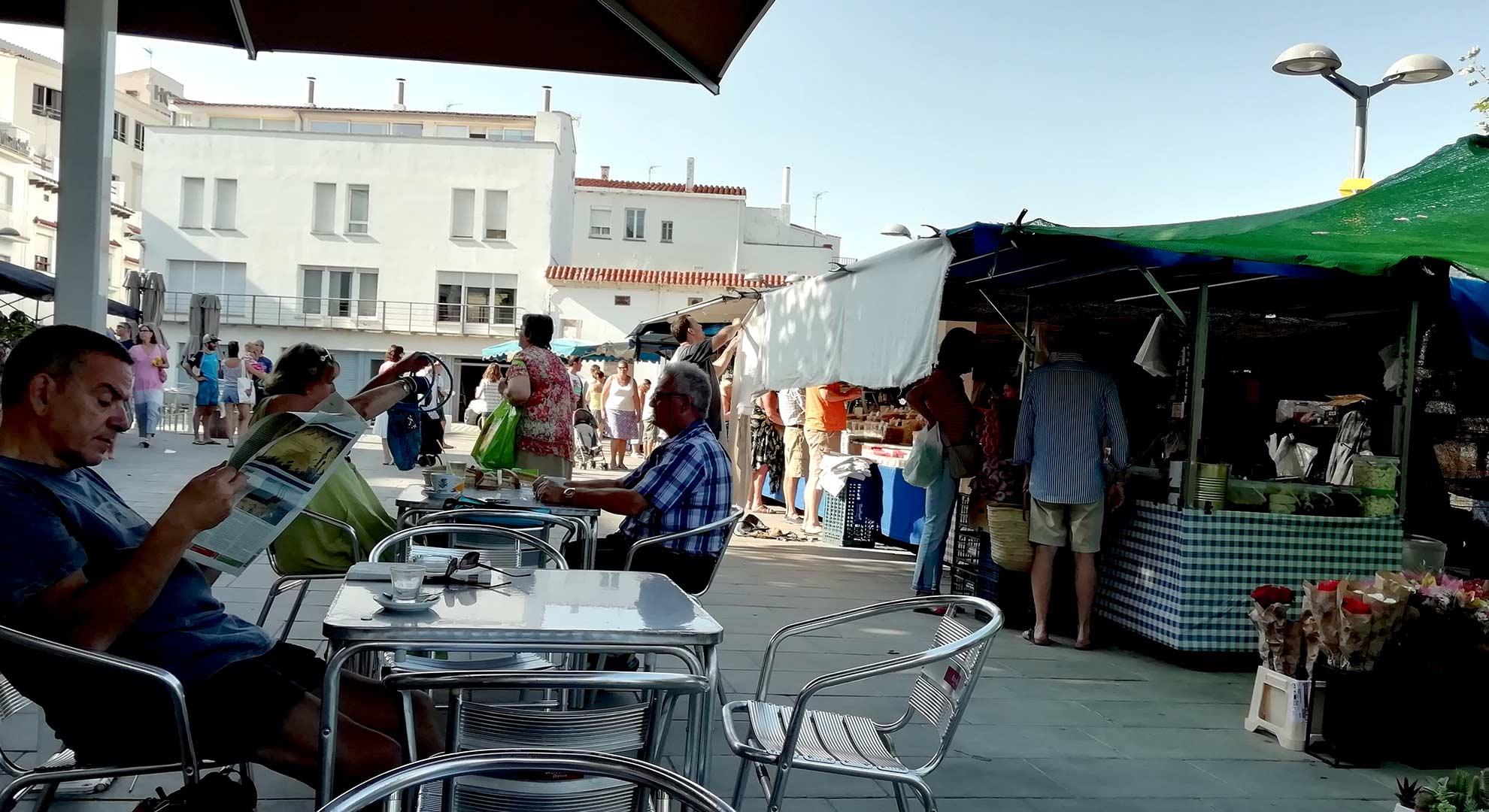 Market day, Port de la Selva, Spain