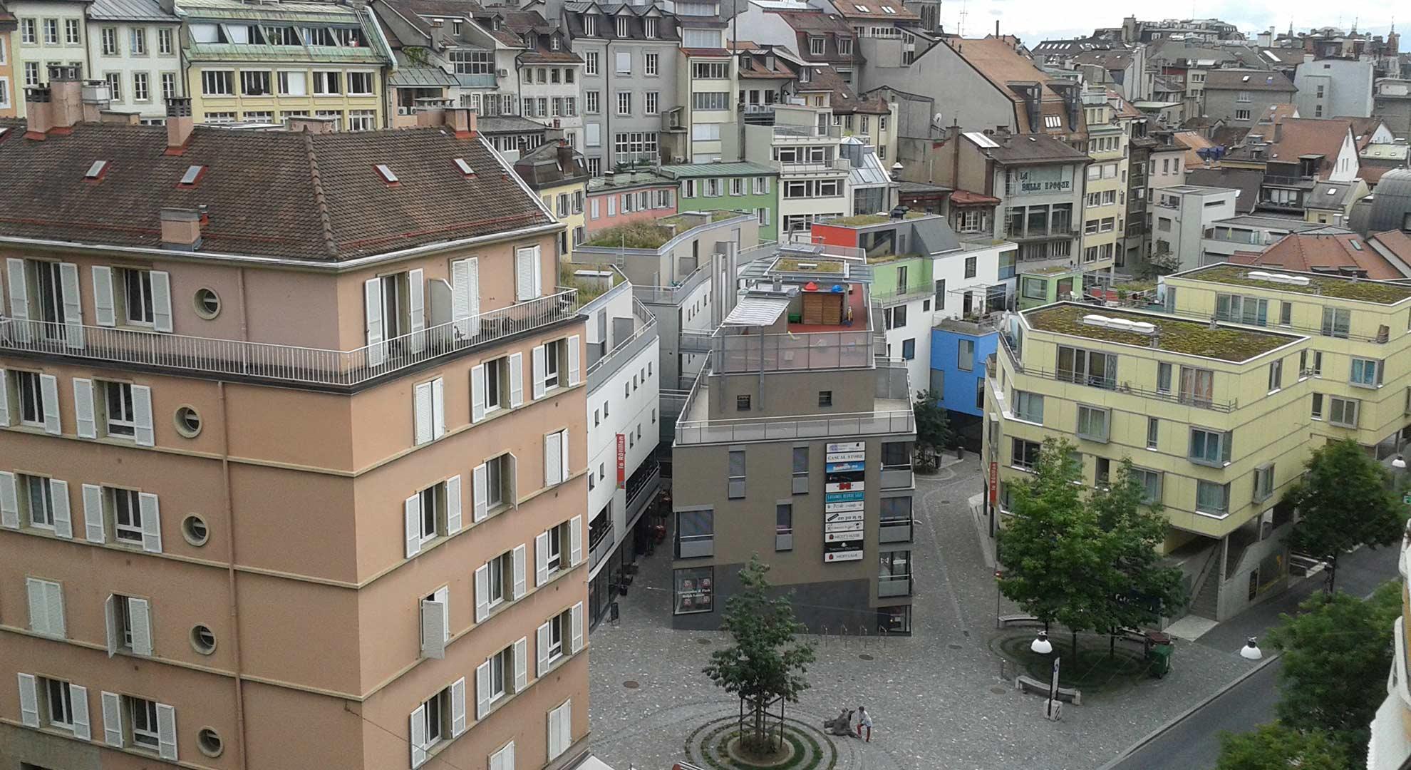 Diversity and urban mix, Lausanne, Switzerland
