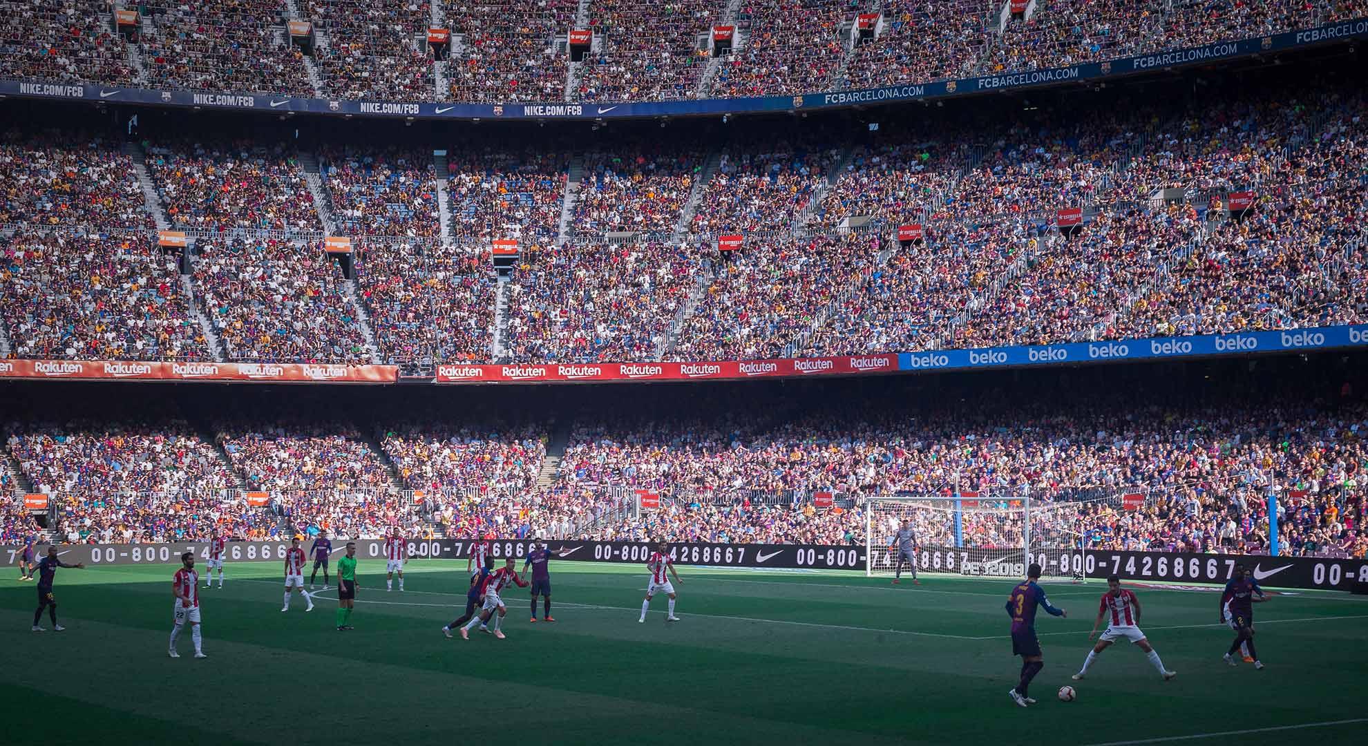 Estadio de fútbol Camp Nou, Barcelona