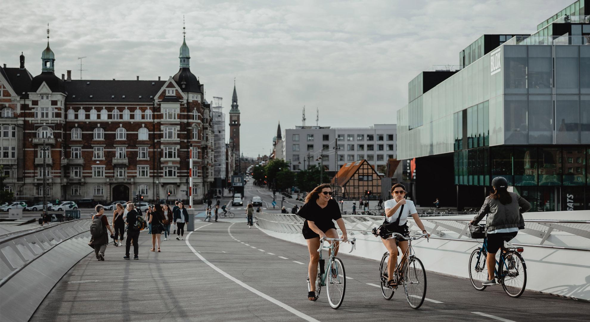 El uso de la bicicleta ayuda a revertir el cambio climático.