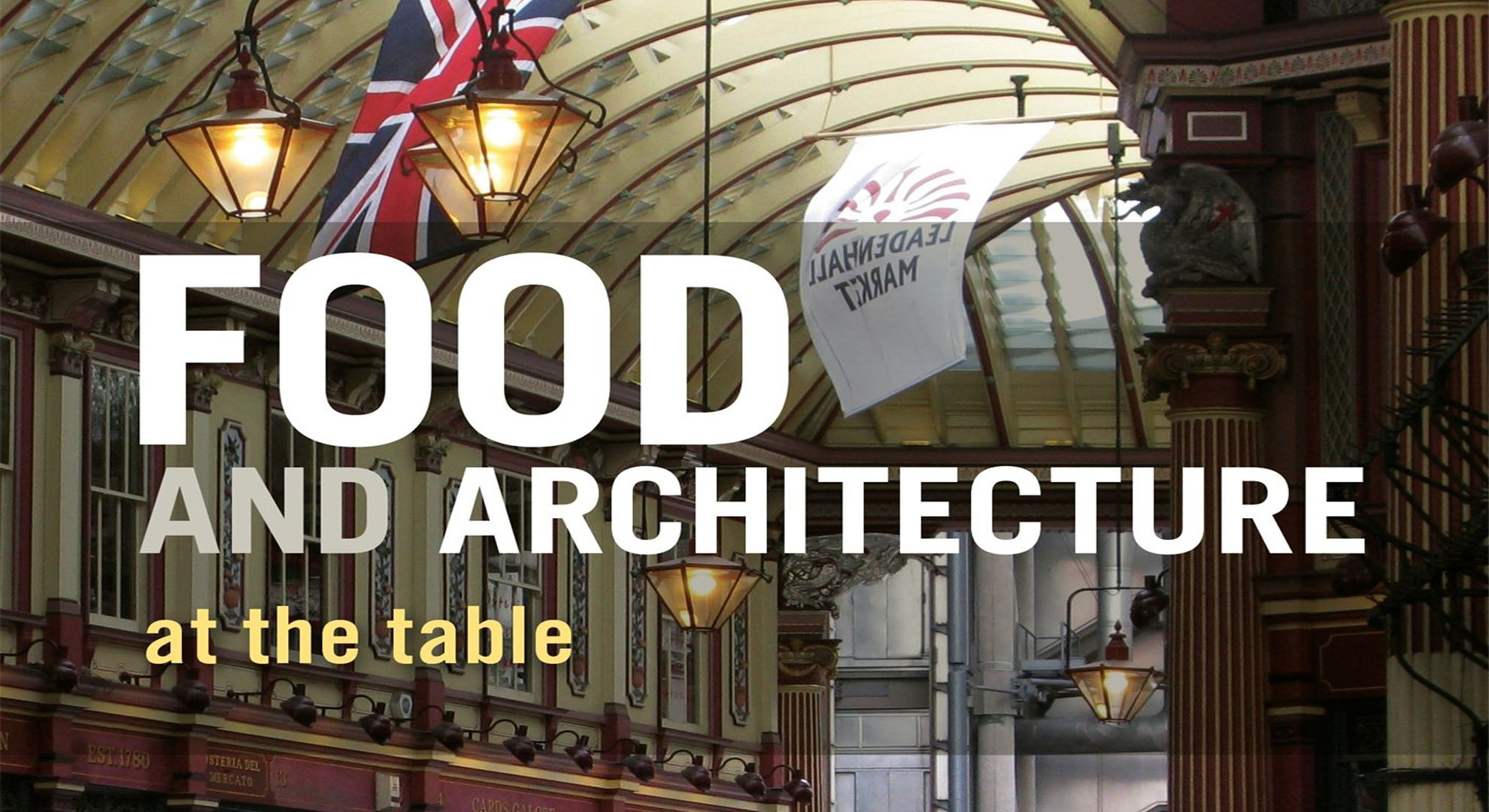 Book: Food and Architecture: at the table