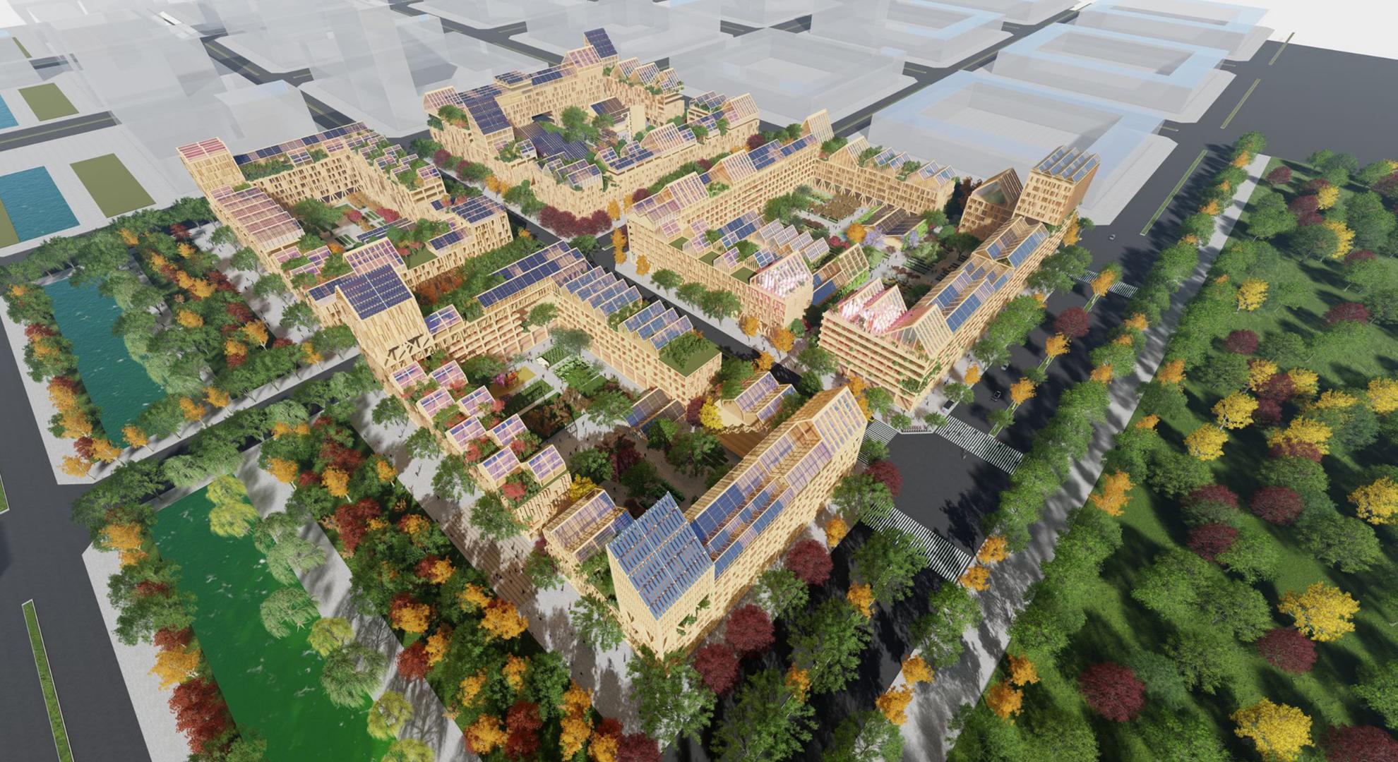 Una ciudad autosuficiente requiere soluciones de agricultura urbana.