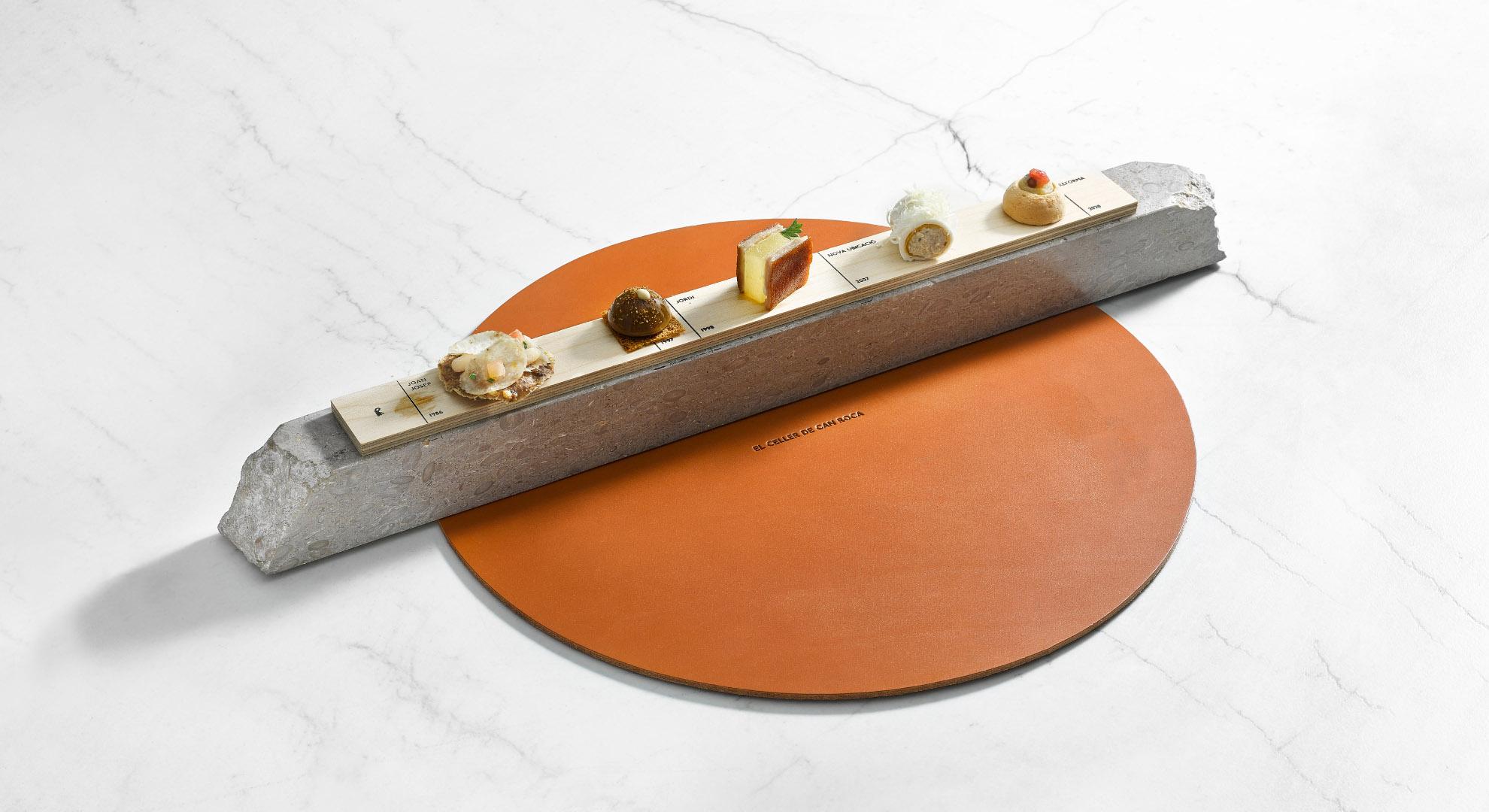 El diseño de este plato se basa en la historia culinaria de sus creadores.