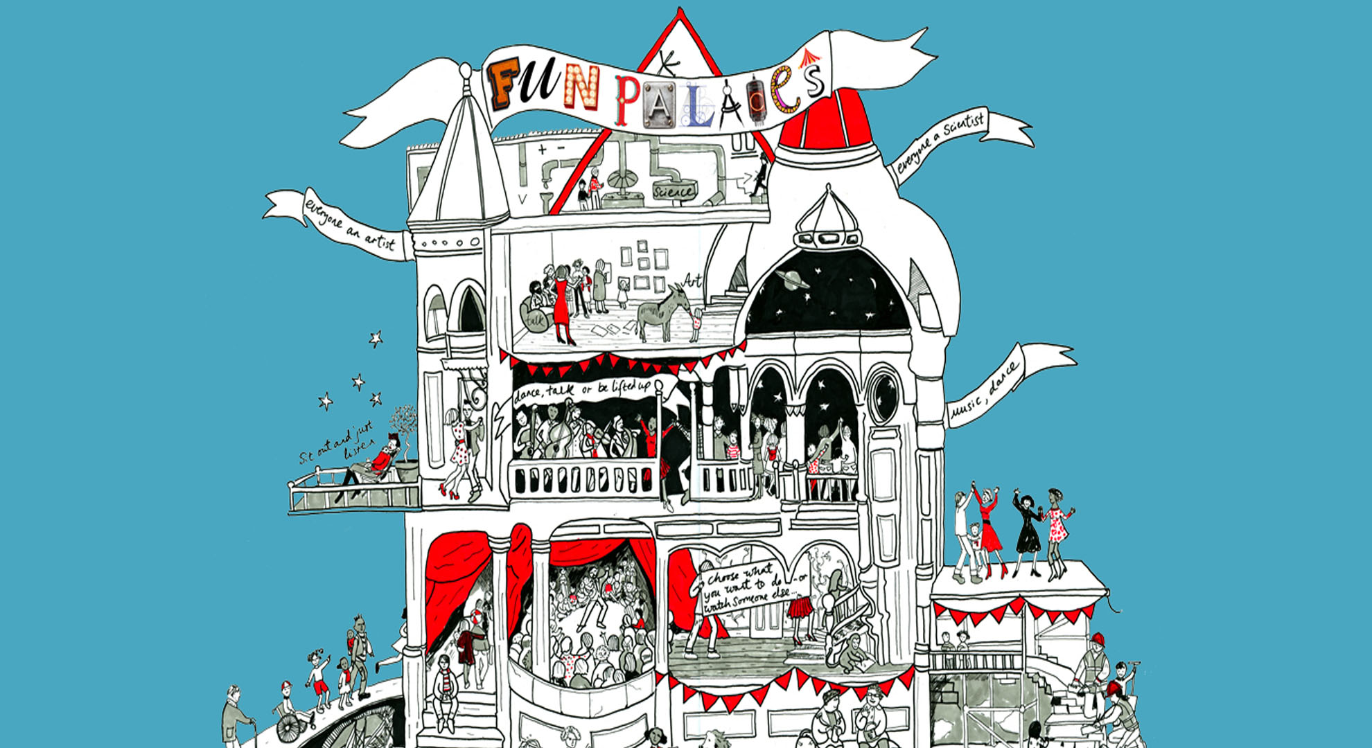 Fun Palaces, un proyecto para fomentar creatividad compartida