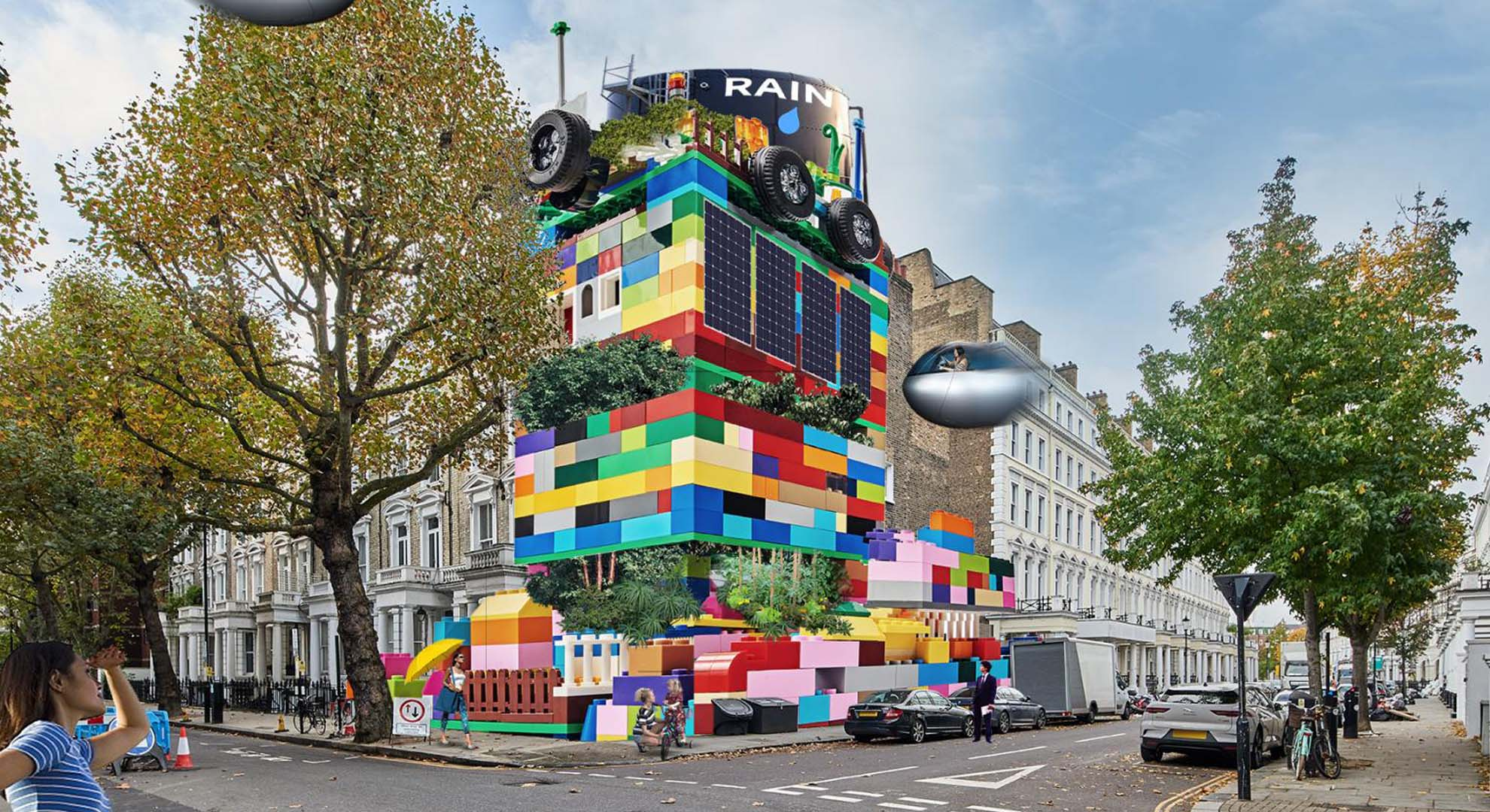 Project: Lego redesigns the world along with the children