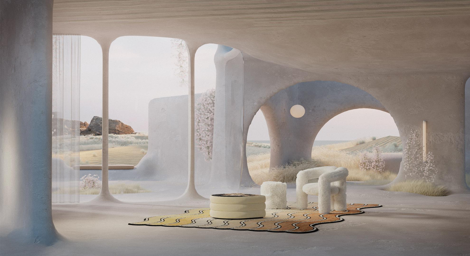 Sun cave. Diseño de interiores Reisinger Studio