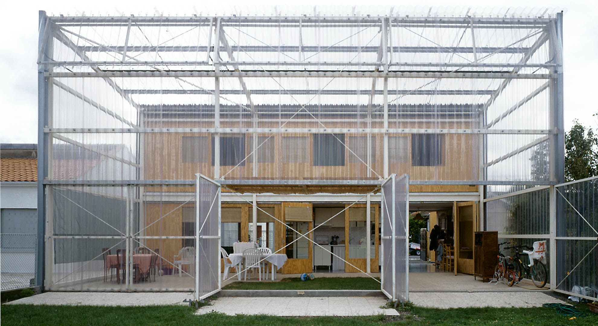 Latapie House in Floirac, France.