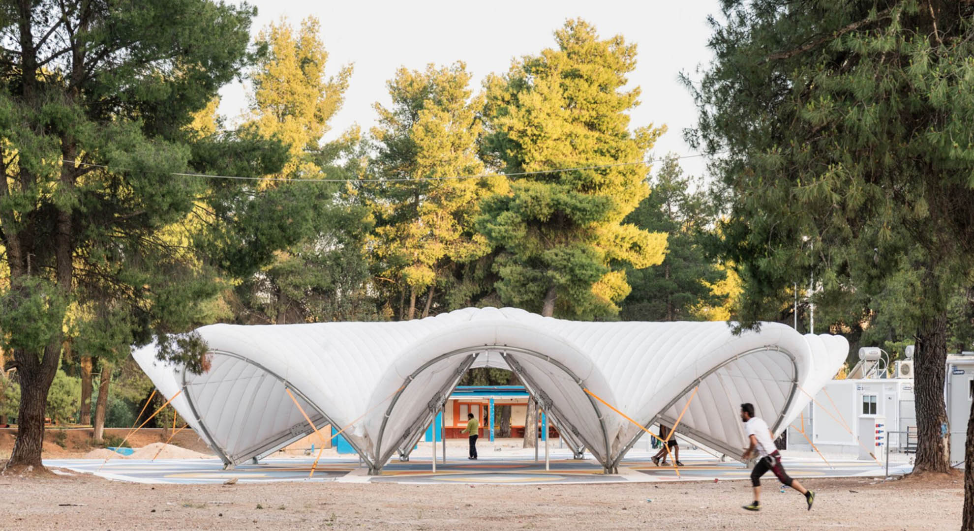 Design and architecture to confront the refugee crisis